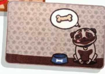 Tapete Pug